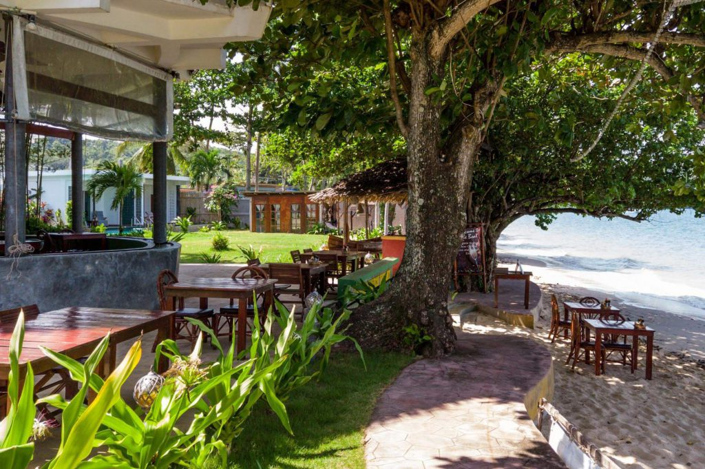 restaurant view Yao Yai Beach Resort Thailand