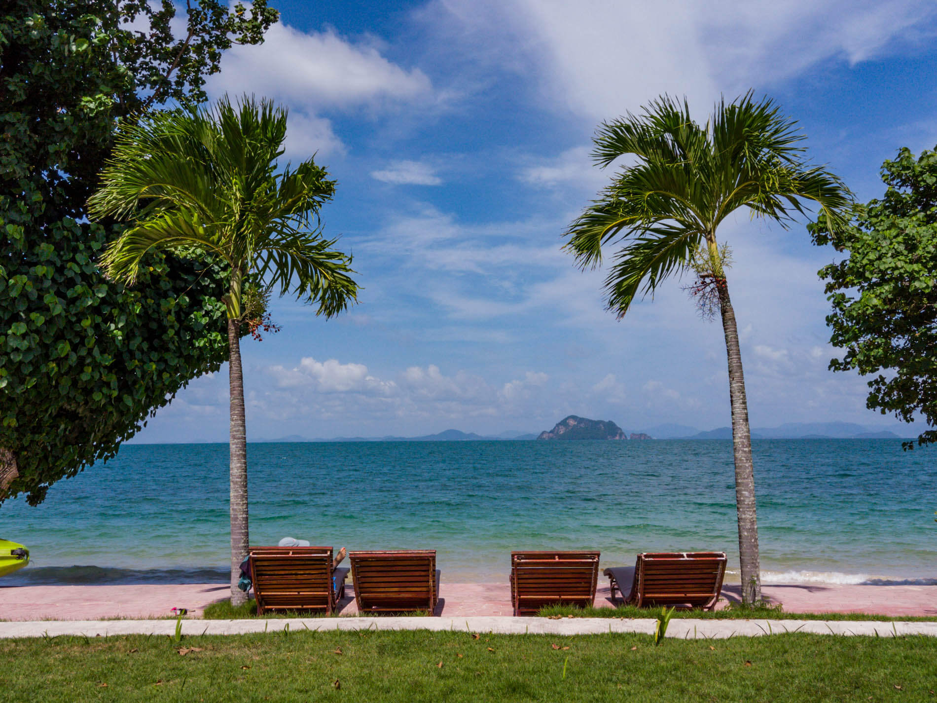 sea view Yao Yai Beach Resort Thailand