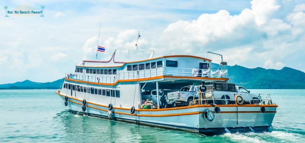 ferry Yao Yai island Thailand
